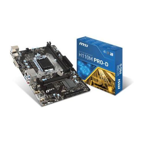 Płyta główna MSI H110M PRO-D (LGA 1151 Micro ATX) + DARMOWY TRANSPORT!, H110M PRO-D