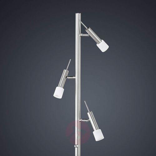 Trzypunktowa lampa stojąca Titus - ściemniana (4017807161540)