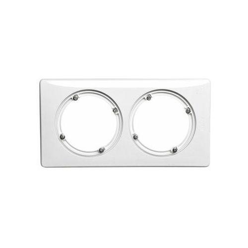 CELIANE Ramka biały podwójna IP44 069072 LEGRAND, kolor biały