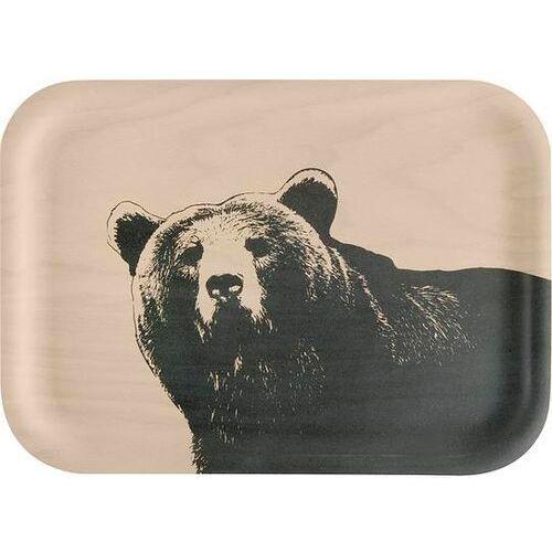 Taca do serwowania nordic niedźwiedź 20 x 27 cm