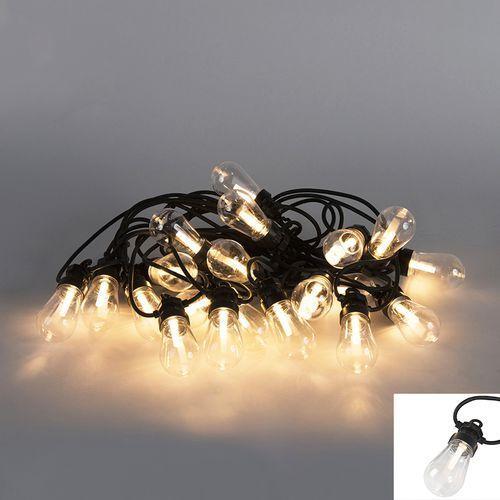 Oswietlenie swiateczne lancuch swietlny Globe A 20 LED barwa cieplo biala 9,5 m