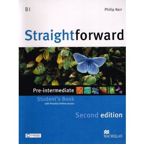 Straightforward Pre-Intermediate 2nd Edition Książka Ucznia Plus Web Zone Access, Macmillan