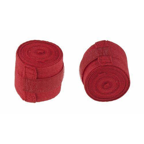 Bandaż bokserski HKBD 101 czerwony - Czerwony