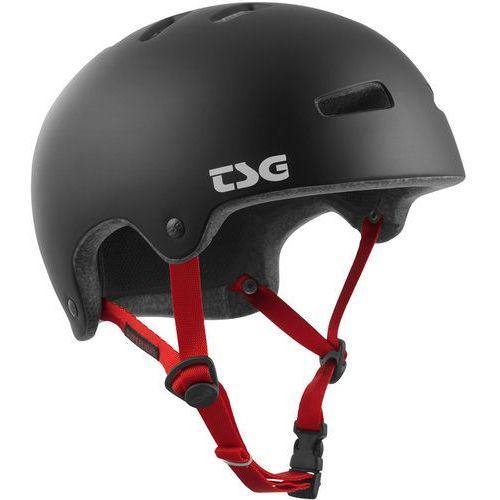 superlight solid color kask rowerowy czarny l/xl | 57-59cm 2018 kaski rowerowe marki Tsg