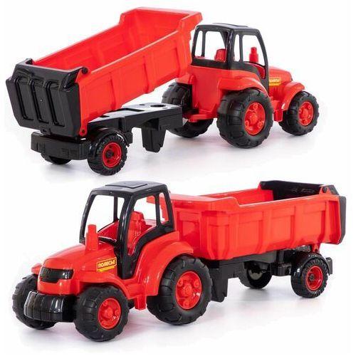 Mistrz traktor z naczepą w siatce, 1_630277