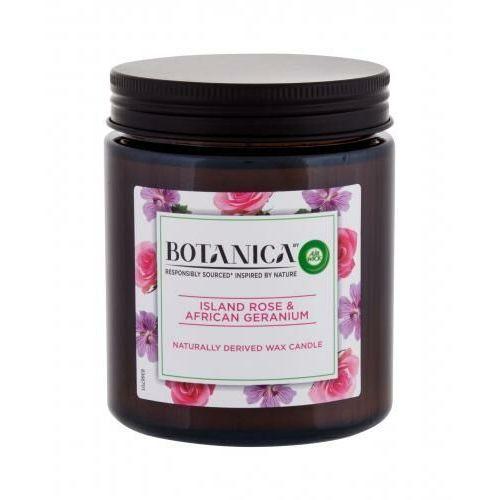 Air wick botanica island rose & african geranium świeczka zapachowa 205 g unisex (5999109541161)