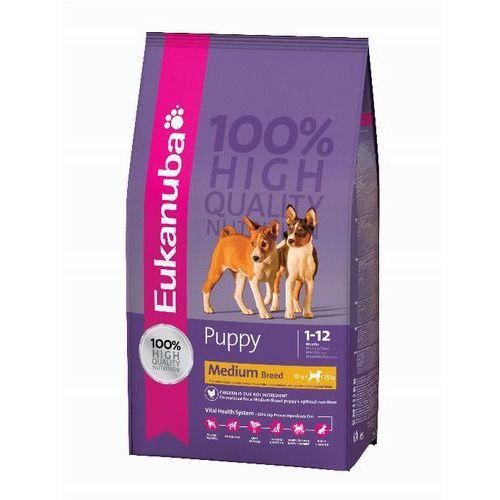 Eukanuba puppy&junior medium breed 1kg (8710974911616)