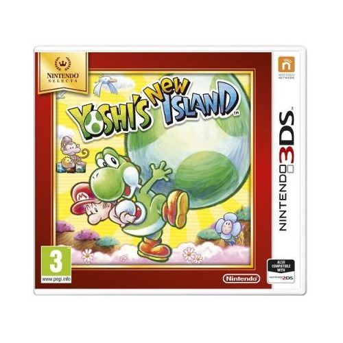Nintendo Gra 3ds yoshi's new island selects (0045496528843)