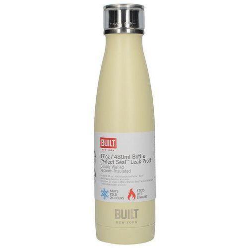 BUILT Perfect Seal Vacuum Insulated Bottle - Stalowy termos próżniowy 0,5 l (Vanilla) (5050993321236)
