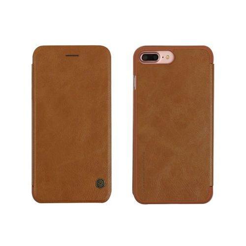 Nillkin Apple iphone 8 plus - etui na telefon qin - brązowe