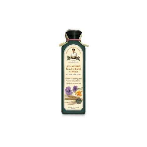 Babcia agafia Receptura babci agafii balsam do włosów ziołowy gęsty na bazie 17 syberyjskich ziół, 350 ml (4607040318667)