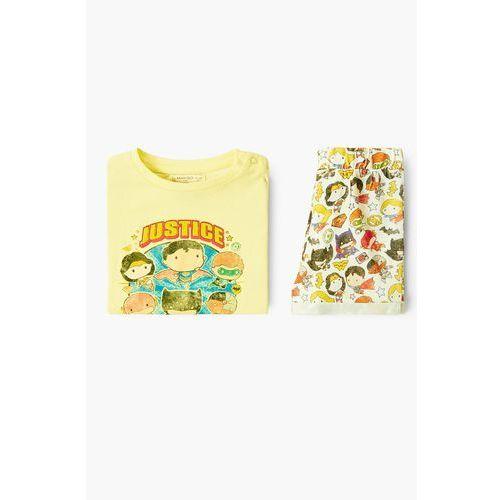 - piżama dziecięca heroes 80-104 cm marki Mango kids