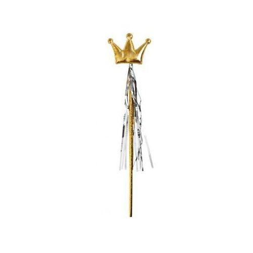 Różdżka magiczna złota korona - 1 szt.