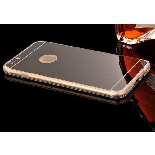 Slim Mirror Case Czarny | Etui dla Apple iPhone 6 Plus / 6S Plus - Czarny - produkt z kategorii- Futerały i pokrowce do telefonów