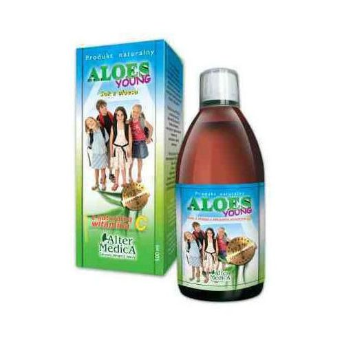 Altermedica Aloes young z witaminą c 500ml