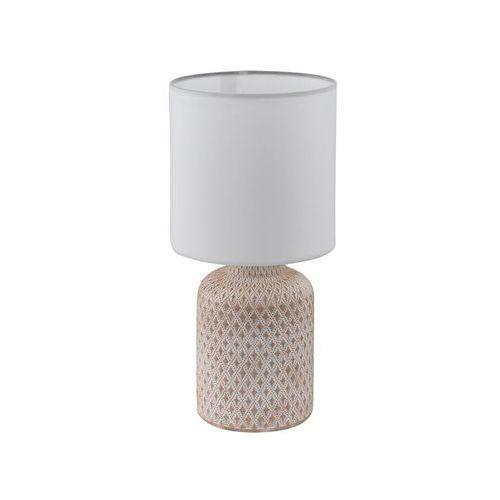 Lampka Eglo Bellariva 97773 stołowa nocna 1x40W E14 krem/biała (9002759977733)
