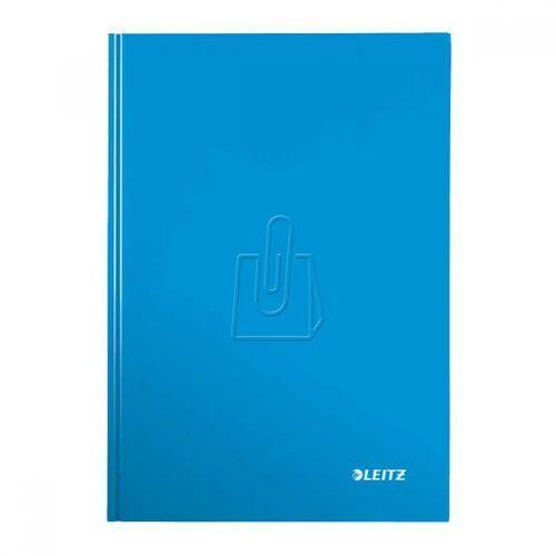 Leitz Brulion wow a4 80 kratka twarda oprawa niebieski 46261036