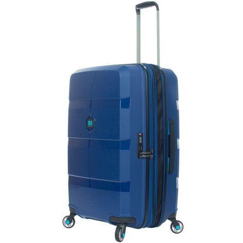BG Berlin ZIP2 walizka średnia poszerzana 69,5 cm / Jazz Blue - Jazz Blue