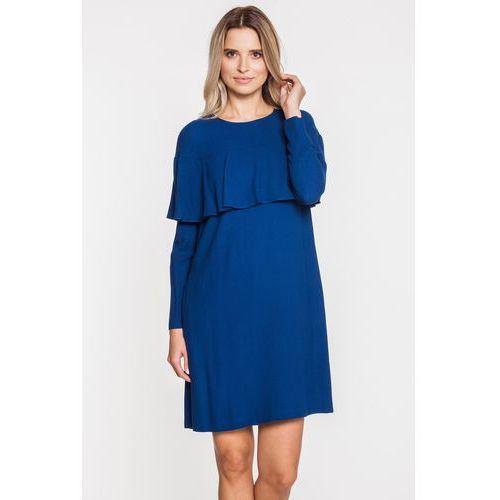 Wiskozowa sukienka wieczorowa - Bialcon, 1 rozmiar