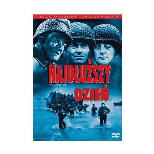 Najdłuższy dzień (film z polskim lektorem) (DVD) - Ken Annakin, Andrew Marton (5903570137884)