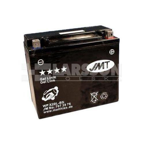 Jm technics Akumulator żelowy jmt ytx20l-bs (wpx20l-bs) 1100312 harley davidson flstf 1600