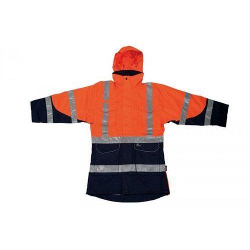 Beta Komplet kurtka z polarem ostrzegawcze pomarańczowo-granatowe, rozmiar xxxl