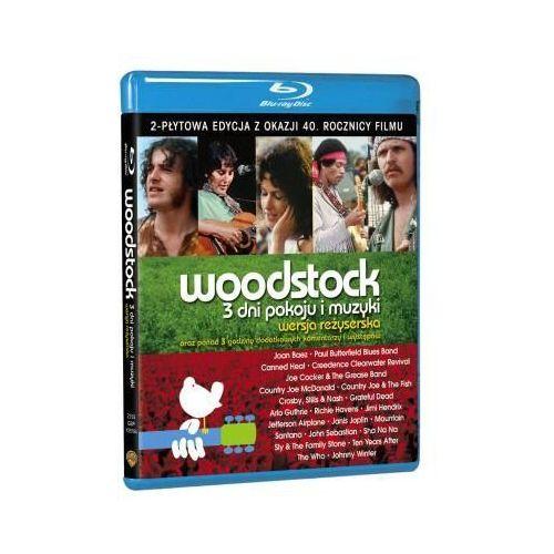Woodstock: 3Dni pokoju i muzyki (2xBlu-Ray) - Michael Wadleigh DARMOWA DOSTAWA KIOSK RUCHU