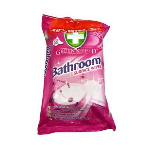70szt bathroom wipes nawilżane chusteczki do łazienek marki Green shield