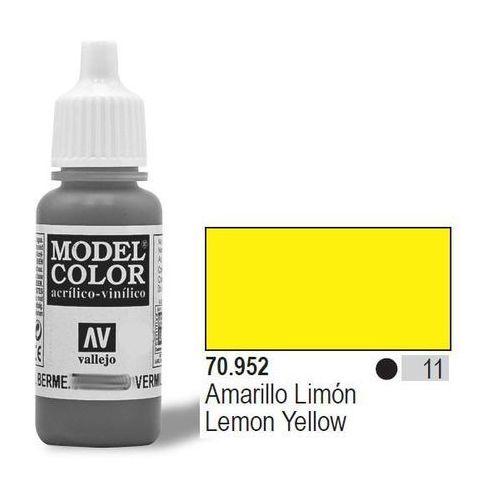 farba nr11 lemon yellow 17mlmatt marki Vallejo