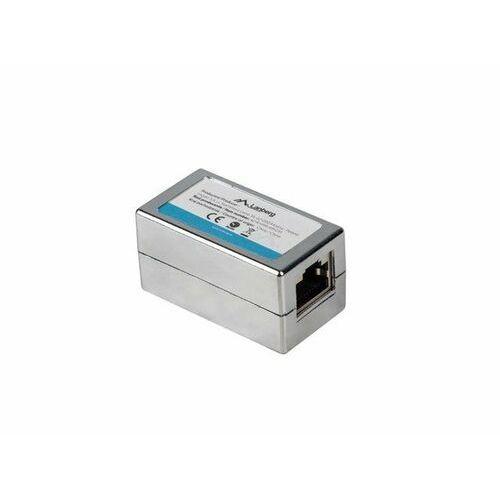 LANBERG Adapter złączka sieciowa RJ45 x2 kat.6 ekranowany (5901969418637)