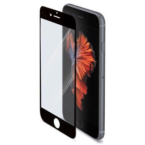 Szkło hartowane CELLY GLASS701BK do iPhone 6+/6S+ Czarny z kategorii Szkła hartowane i folie do telefonów