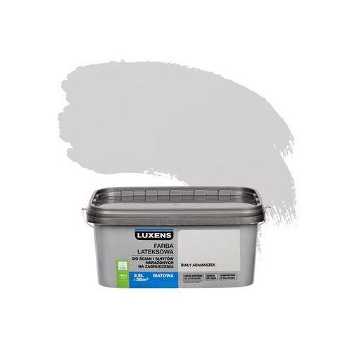 Farba wewnętrzna narażonych na zabrudzenia 2,5 l biały adamaszek marki Luxens