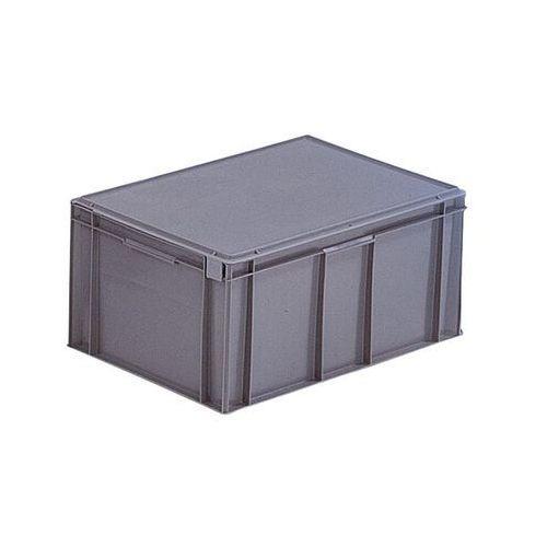 Pojemnik wg euronormy, poj. 54 l, dł. x szer. x wys. 600x400x291 mm, od 1 szt. Z