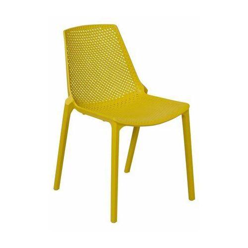 Telehit garden Krzesło ogrodowe stockholm plastikowe żółte (5901721054073)