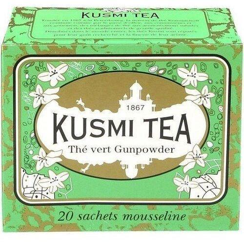 Herbata zielona gunpowder 20 torebek marki Kusmi