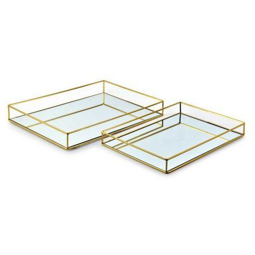 Cedric gold kpl. 2 tac 35x25x4cm/40x30x5cm marki Sofa.pl