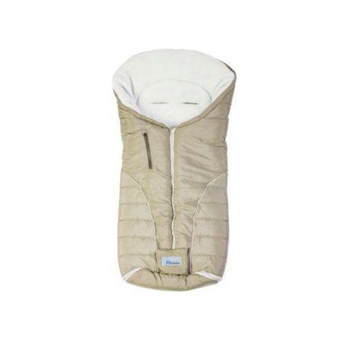 Alta bebe Altabebe śpiworek zimowy alpin do wózka kolor beige/whitewash (4897015977603)