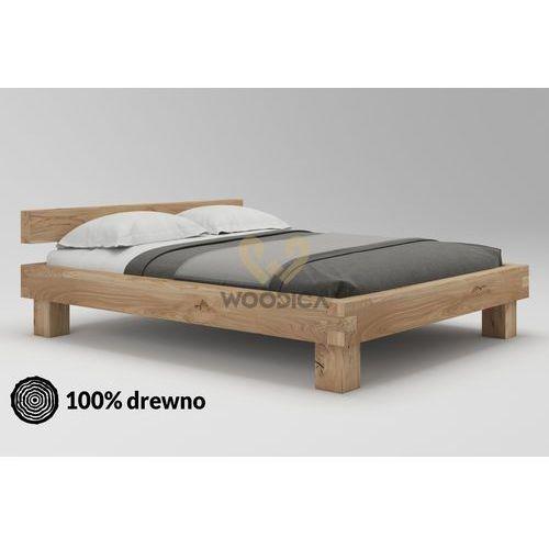 Łóżko dębowe Caragana 01 180x200
