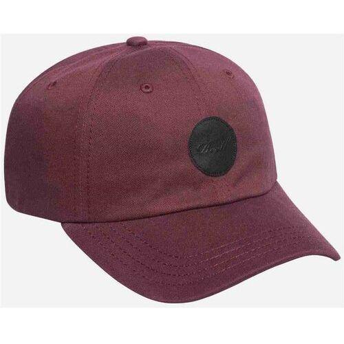 czapka z daszkiem REELL - Dad Cap Cotton Twill Aubergine (AUBERGINE) rozmiar: OS