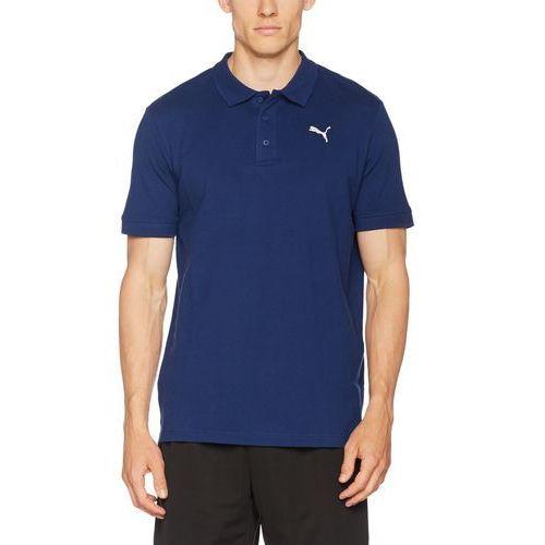 Puma essential koszulka polo blue depths