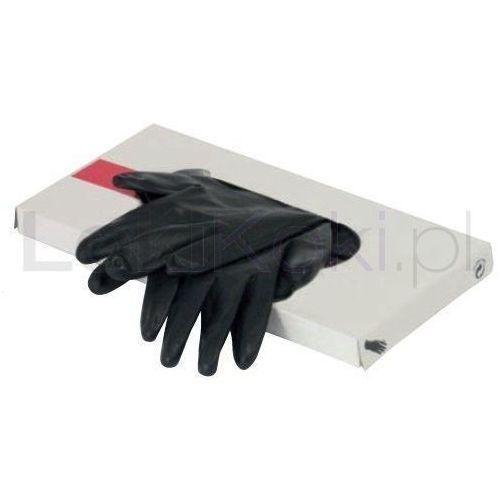 Rękawiczki latex rozmiar L czarne 20 szt. Mila Technic