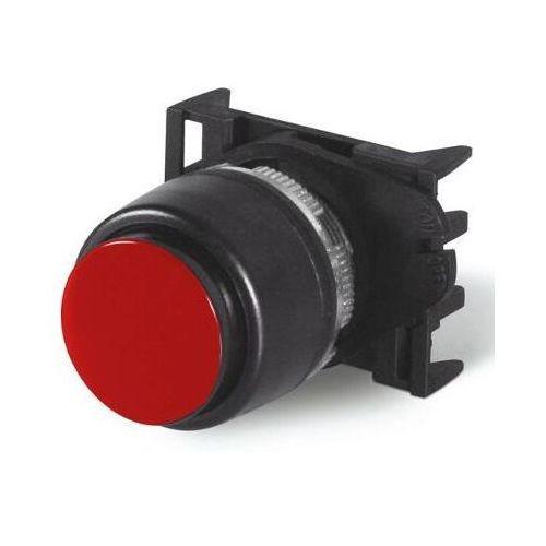Przycisk z wystającym czołem czerwony PPSN1