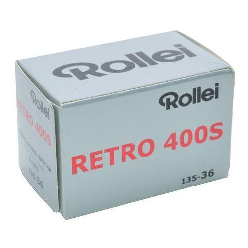 retro 400s /36 negatyw cz/b marki Rollei film