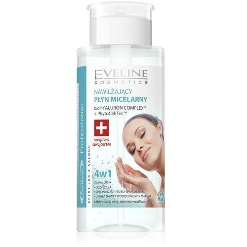 , face therapy. płyn miceralny 4w1 pompka, 240ml - eveline marki Eveline