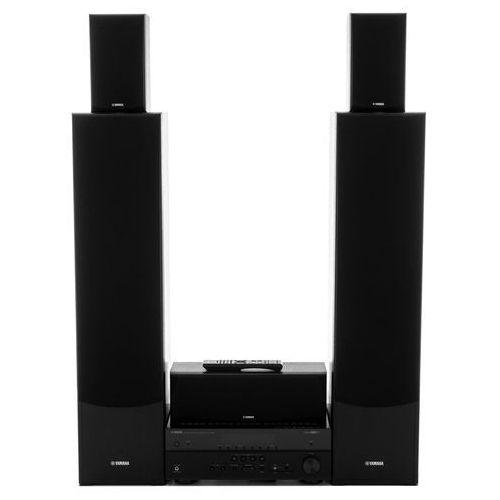 Yamaha Kino domowe rx-v485 + ns-f51/ns-p51 czarny