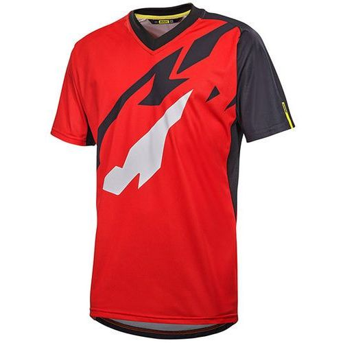 Mavic Męska koszulka xm pro jersey fiery red/black rozmiar m