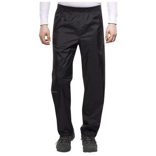 Marmot PreCip Spodnie długie Mężczyźni czarny 48-50-krótkie Spodnie narciarskie (0785562491137)