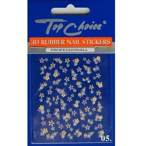 Top choice Naklejki na paznokcie kwiatki