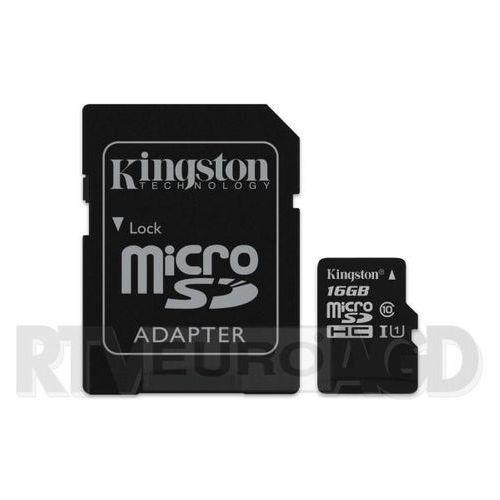 microsdhc class 10 uhs-i 16gb - produkt w magazynie - szybka wysyłka! marki Kingston
