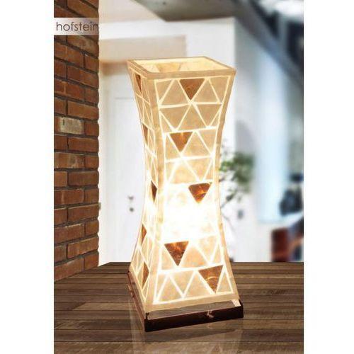 Globo lampa stołowa biały, 1-punktowy - - obszar wewnętrzny - bali - czas dostawy: od 6-10 dni roboczych (9007371344055)